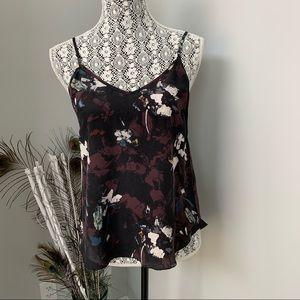 ARITZIA Wilfred 100% Silk Camisole Floral Size S